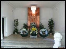 Vinohradská obřadní síň Vinohradské hřbitovy