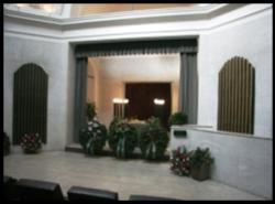 Nová obřadní síň Olšanské hřbitovy