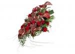 Květiny na rakev převislé